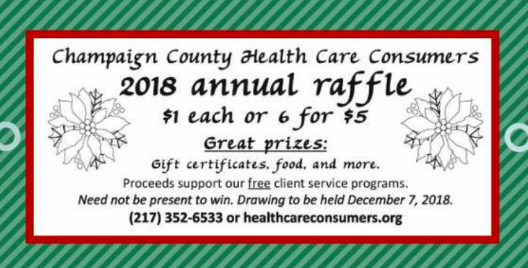 Buy Raffle Tickets, Support CCHCC and Maybe Win!