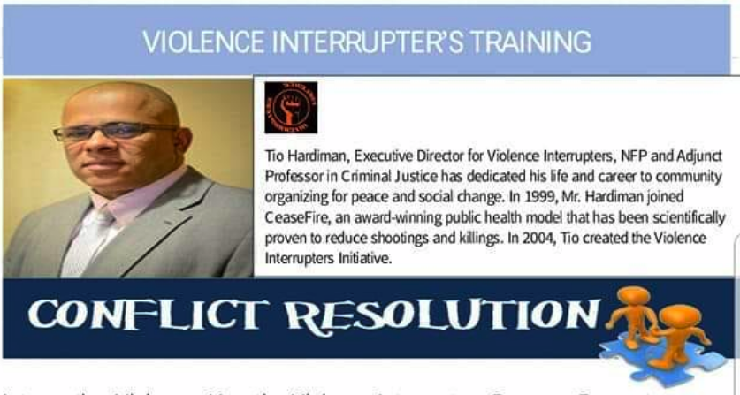 Violence Interrupters Training