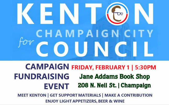 Kenton for Champaign City Council Fundraiser