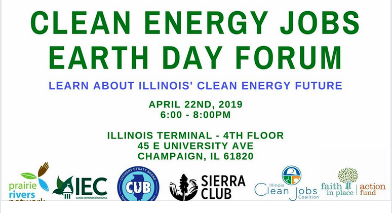 Earth Day Forum: Clean Energy Jobs Act