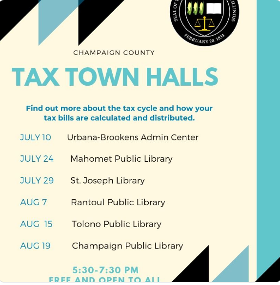 County Clerk Tax Town Hall